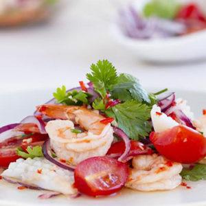 ensalada de marisco zulimar